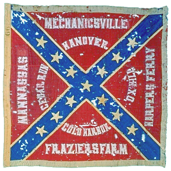 28th NC Regt Flag front