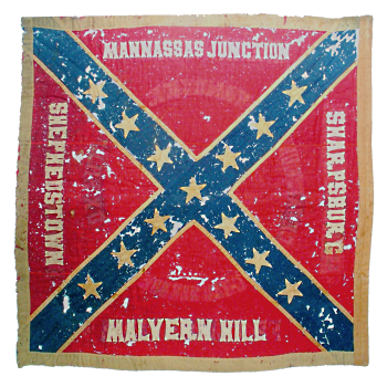 28th NC Regt Flag obverse