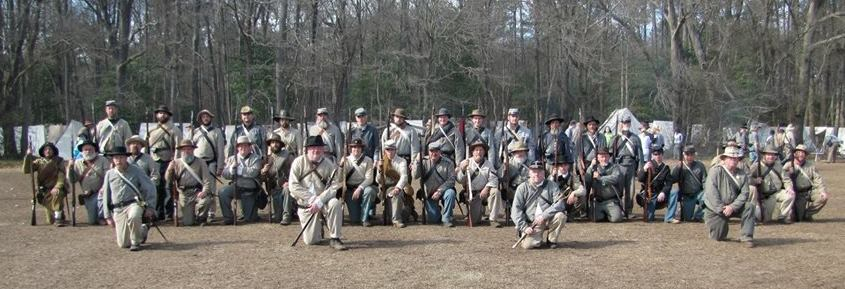 28th NC Troops at the 150th Anniversary of the Battle of Bentonville